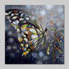 Mintura Oil Painting Hand-painted Butterfly Unframed - COLORMIX