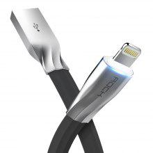ROCK Salmon Style 8 Pin Auto Disconnect USB Data Cable