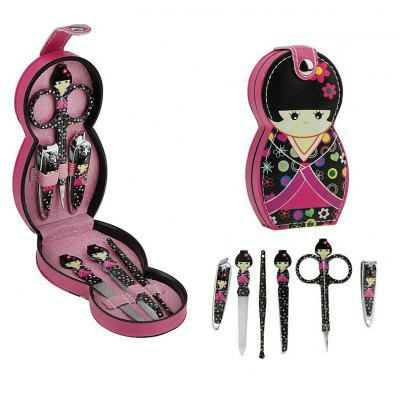 Professional Cartoon Nail Manicure Tools Set