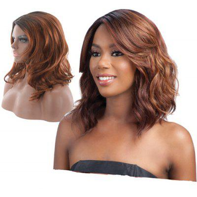 Female Fashionable Wavy Medium Artificial Hair Synthetic Wig