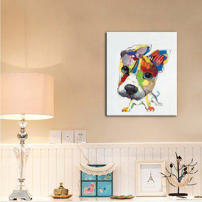 YHHP Colorful Pet Dog Printed PrintPrints<br>YHHP Colorful Pet Dog Printed Print<br><br>Brand: YHHP<br>Craft: Print<br>Form: One Panel<br>Material: Canvas<br>Package Contents: 1 x Painting<br>Package size (L x W x H): 62.00 x 4.00 x 4.00 cm / 24.41 x 1.57 x 1.57 inches<br>Package weight: 0.2000 kg<br>Painting: Without Inner Frame<br>Product size (L x W x H): 60.00 x 70.00 x 1.00 cm / 23.62 x 27.56 x 0.39 inches<br>Product weight: 0.1200 kg<br>Shape: Vertical<br>Style: Modern Style, Modern / Contemporary<br>Subjects: Animal<br>Suitable Space: Bedroom,Corridor,Dining Room,Hotel,Indoor,Living Room,Office,Outdoor