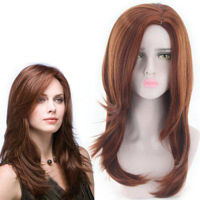 Fashionable Medium Artificial Hair Synthetic Wig