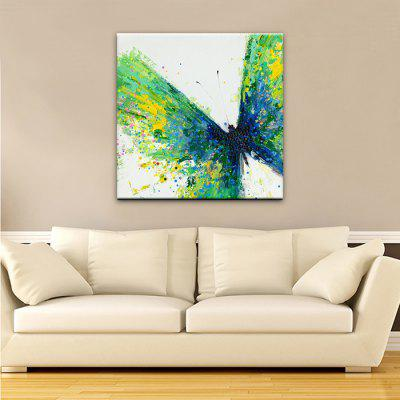 YHHP Green Butterfly Wall Decor PrintPrints<br>YHHP Green Butterfly Wall Decor Print<br><br>Brand: YHHP<br>Craft: Print<br>Form: One Panel<br>Material: Canvas<br>Package Contents: 1 x Print<br>Package size (L x W x H): 72.00 x 5.00 x 5.00 cm / 28.35 x 1.97 x 1.97 inches<br>Package weight: 0.2500 kg<br>Painting: Without Inner Frame<br>Product size (L x W x H): 70.00 x 70.00 x 1.00 cm / 27.56 x 27.56 x 0.39 inches<br>Product weight: 0.2000 kg<br>Shape: Horizontal<br>Style: Modern Style, Modern / Contemporary<br>Subjects: Animal<br>Suitable Space: Bedroom,Corridor,Dining Room,Hallway,Hotel,Indoor,Living Room,Office,Outdoor,Study Room / Office