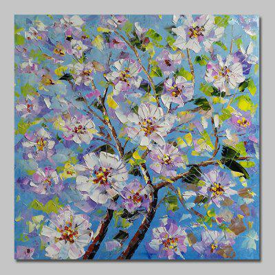 Mintura MT160707 Hand Painted Flowers Canvas Oil Painting