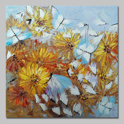 Mintura MT160706 Butterflies Canvas Oil Painting