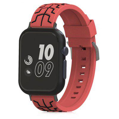 Fishbone Silicone Watchband for 38mm Apple Watch
