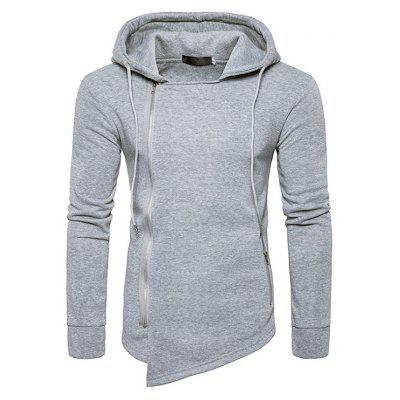 Fashion Asymmetric Hoodie Sweatshirt