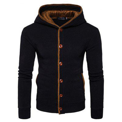 Simple Fashion Hooded Sweatshirt Jacket