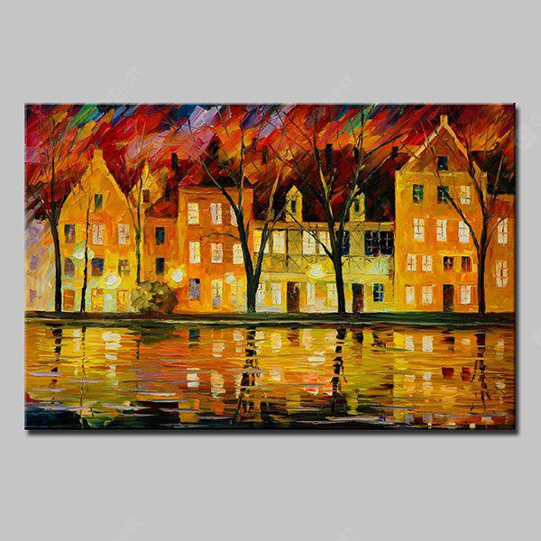 Mintura MT160537 Hand Painted Canvas Oil Painting