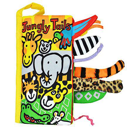 Buy Solid Washable Cloth Book Baby COLORMIX