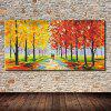 Mintura Oil Painting Modern Abstract Street Landscape - COLORMIX