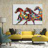 Mintura MT160521 Hand Painted Canvas Oil Painting - COLORMIX