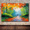 Mintura MT160524 Hand Painted Oil Painting - COLORMIX