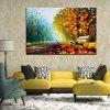 Mintura MT160536 Hand Painted Oil Painting - COLORMIX