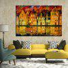 Mintura MT160537 Hand Painted Canvas Oil Painting - COLORMIX