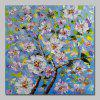 Mintura MT160707 Hand Painted Flowers Canvas Oil Painting - COLORMIX