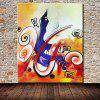 Mintura MT160665 Abstract Canvas Oil Painting - COLORMIX
