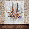 Mintura MT160669 Abstract City Streets Canvas Oil Painting - COLORMIX