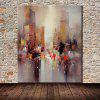 Mintura MT160668 Abstract City Canvas Oil Painting - COLORMIX