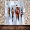 Mintura MT160666 Abstract People Canvas Oil Painting - COLORMIX