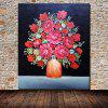 Mintura MT160670 Red Flowers Canvas Oil Painting - COLORMIX