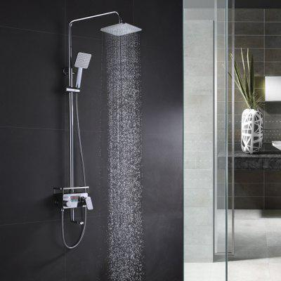 Digital Display Single Handle Bathroom Shower Faucet Set