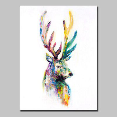 Buy COLORMIX Mintura MT160691 Oil Painting Hand-painted Elk for $57.18 in GearBest store