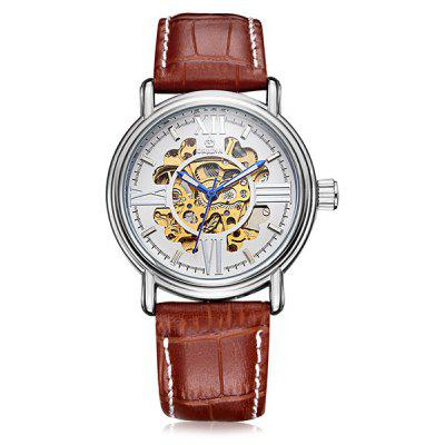 MG.ORKINA MG023 Genuine Leather Band Men Watch