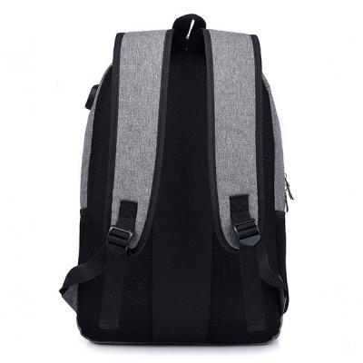 Large Capacity Backpack with External USB Charging JackBackpacks<br>Large Capacity Backpack with External USB Charging Jack<br><br>Features: Wearable<br>For: Daily Use<br>Gender: Men<br>Material: Canvas<br>Package Size(L x W x H): 32.00 x 4.00 x 47.00 cm / 12.6 x 1.57 x 18.5 inches<br>Package weight: 0.6300 kg<br>Packing List: 1 x Backpack<br>Product weight: 0.6100 kg<br>Style: Fashion, Casual<br>Type: Backpacks