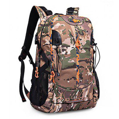 Practical Large Capacity Waterproof BackpackBackpacks<br>Practical Large Capacity Waterproof Backpack<br><br>Capacity: 31 - 40L<br>Features: Wearable<br>For: Daily Use<br>Gender: Unisex<br>Material: Oxford Fabric<br>Package Size(L x W x H): 38.00 x 32.00 x 8.00 cm / 14.96 x 12.6 x 3.15 inches<br>Package weight: 1.0700 kg<br>Packing List: 1 x Backpack<br>Product weight: 1.0500 kg<br>Style: Fashion, Casual<br>Type: Backpacks