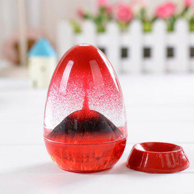 Egg Sand Oil Hourglass for Home Decoration Relax Gift