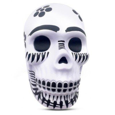 Slow Rising Squishy Toy with Creative Halloween Skull Style