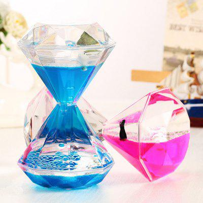 Olio Sandglass Hourglass Floating Delfino 1pc