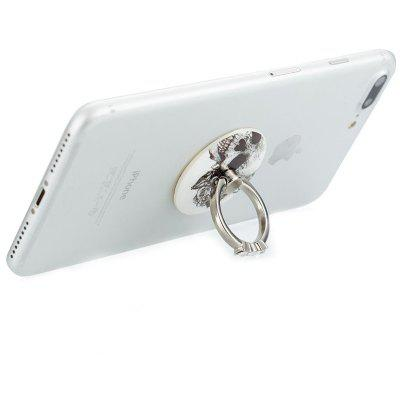 Odolný Crystal Phone Ring Stand Holder