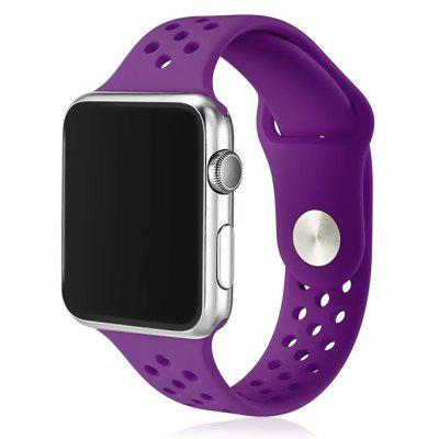 Pulsera de Reloj Simple y Respirable para 38mm Apple Watch