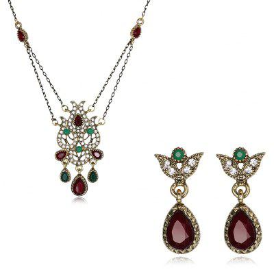 Stylish Zinc Alloy Women Jewelry Set