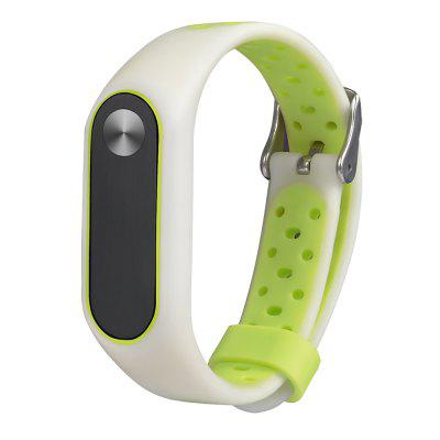 Luminous Replacement Wristband for Xiaomi Mi Band 2Smart Watch Accessories<br>Luminous Replacement Wristband for Xiaomi Mi Band 2<br><br>Compatible with: Xiaomi Mi Band 2<br>Material: TPE<br>Package Contents: 1 x Wristband<br>Package size: 9.00 x 12.00 x 1.00 cm / 3.54 x 4.72 x 0.39 inches<br>Package weight: 0.0150 kg<br>Product size: 25.00 x 1.80 x 0.90 cm / 9.84 x 0.71 x 0.35 inches<br>Product weight: 0.0140 kg