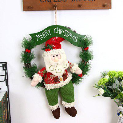 best gift garland door hanger christmas decorations 1pc