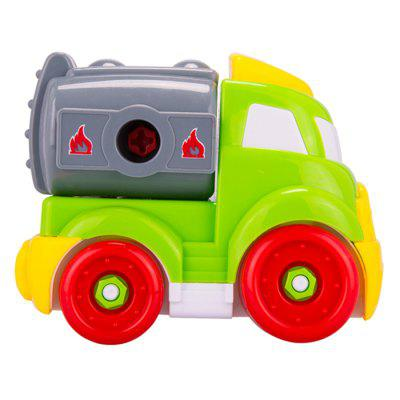 DIY Disassembly Assembly Agitating Lorry SetOther Educational Toys<br>DIY Disassembly Assembly Agitating Lorry Set<br><br>Age: 6 Years+<br>Applicable gender: Unisex<br>Design Style: Cartoon<br>Features: DIY, Decoration, Educational<br>Gender: Unisex<br>Material: Plastic<br>Package Contents: 1 x Set of Agitating Lorry Toys<br>Package size (L x W x H): 19.00 x 14.00 x 17.00 cm / 7.48 x 5.51 x 6.69 inches<br>Package weight: 0.2250 kg<br>Product size (L x W x H): 17.00 x 12.00 x 15.00 cm / 6.69 x 4.72 x 5.91 inches<br>Product weight: 0.2200 kg<br>Small Parts: Yes<br>Type: Intelligence toys<br>Washing: No