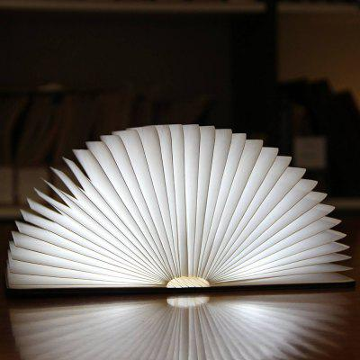 ZBOLE Foldable Paper Book Lamp