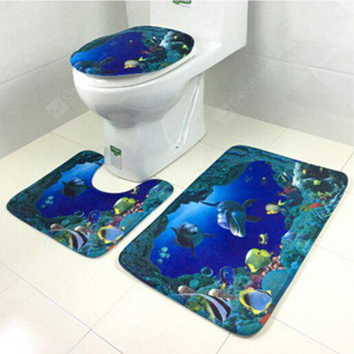Home Decoration Bathroom Utensil Toilet Set