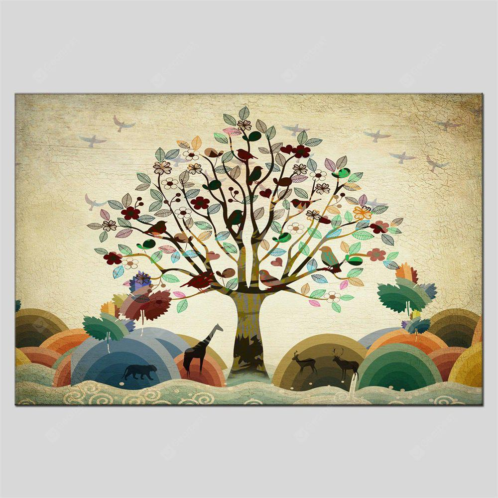 Hua Tuo Modern Canvas Oil Painting Tree Hanging Wall Art