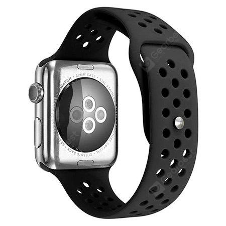 Simple Silicone Watchband for 42mm Apple Watch