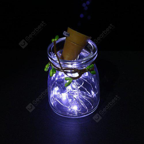 10-LED Bottle Decorative Energy-saving String Lights