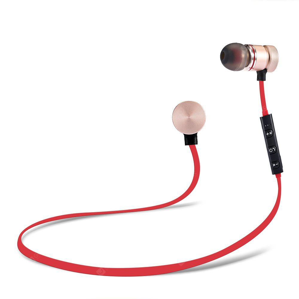 SH01 Metal Magnetic Bluetooth Sports Earbuds
