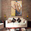 Mintura Canvas Oil Painting Naked Woman Hanging Artwork - COLORMIX