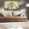 Hua Tuo Modern Canvas Oil Painting Tree Hanging Wall Art - COLORMIX