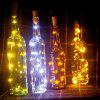 10-LED Bottle Decorative Energy-saving String Lights - WHITE