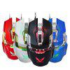 ZERODATE X900 Wired Gaming Mouse Breathing LED Setting - BLACK