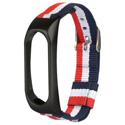 Tri-color Stripe Replacement Wristband for Xiaomi Mi Band 2